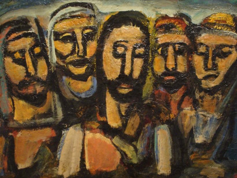 rouault-disciples-jesus