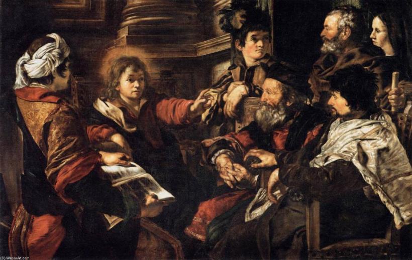 Giovanni-Serodine-Christ-among-the-Doctors-2-