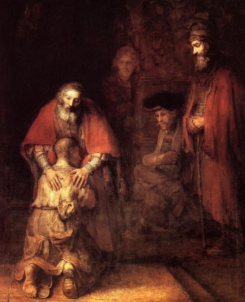 Rembrandt - Le Fils prodigue