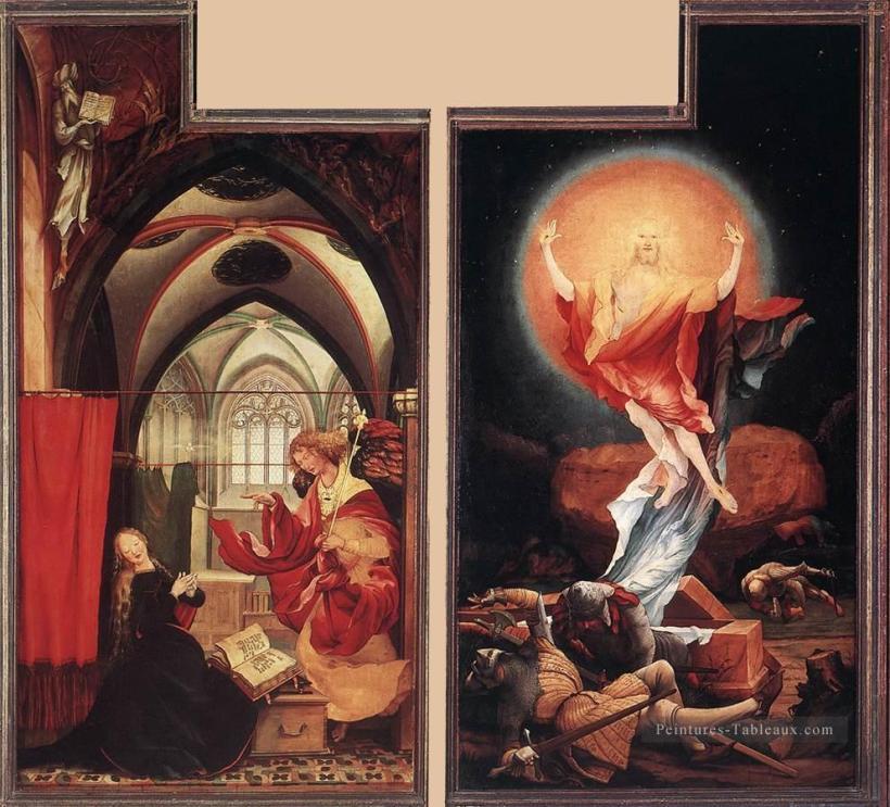 0-Annunciation-and-Resurrection-Renaissance-Matthias-Grunewald