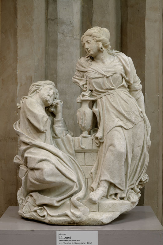 Drouet - Christ et Samaritaine